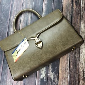 Old Stock 1950's Mid Century Atna Leather Handbag